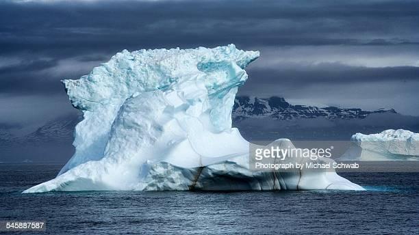 Tip of an iceberg, Disko Bay, Greenland