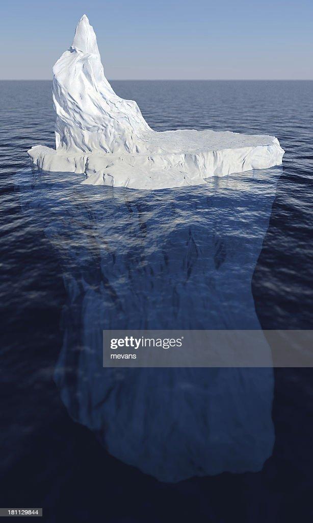 Punta del Iceberg : Foto de stock