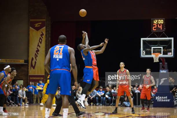 Tip off between the Windy City Bulls and the Canton Charge on December 15 2017 at the Canton Memorial Civic Center in Canton Ohio NOTE TO USER User...