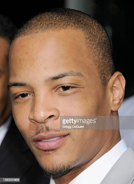 Tip TI Harris arrives at the World Premiere of Takers at the ArcLight Cinerama Dome on August 4 2010 in Hollywood California