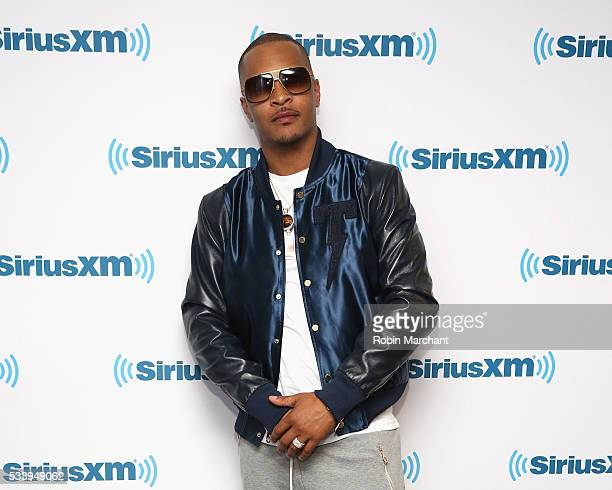 Tip 'TI' Harris visits at SiriusXM Studios on May 24 2016 in New York City