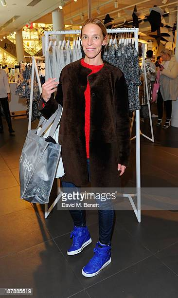 Tiphaine Chapman attends the Isabel Marant Pour HM Preview on November 13 2013 in London England