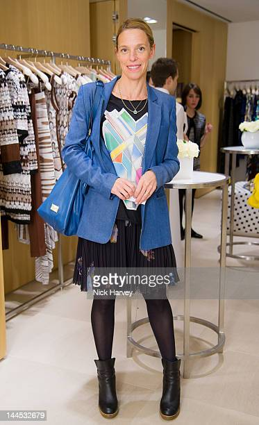 Tiphaine Chapman attends the Missoni lunch at Missoni store Bond Street on May 15 2012 in London England