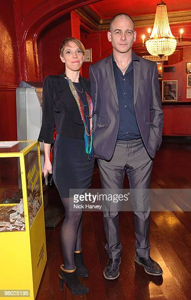 Tiphaine de Lussy and Dinos Chapman attend The ICA Fundraising Gala at KOKO on March 24, 2010 in London, England.