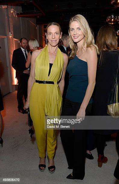 Tiphaine De Lussy and Donna Air attend the opening of new landmark 41-storey development, South Bank Tower, with an exclusive event in the penthouse...
