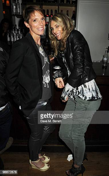 Tiphaine de Lussy and Kim Hersov attend Carl Freedman party celebrating 10 years of Counter Editions Publishing at the Rivington Grill on May 5 2010...
