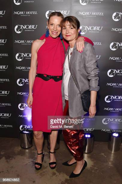 Tiphaine De Lussy arrives at the Nobu Hotel London Shoreditch official launch event on May 15 2018 in London United Kingdom