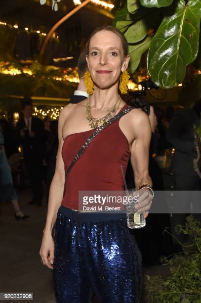 Tiphaine De Lussy attends as Tiffany Co partners with British Vogue Edward Enninful Steve McQueen Kate Moss and Naomi Campbell to celebrate fashion...