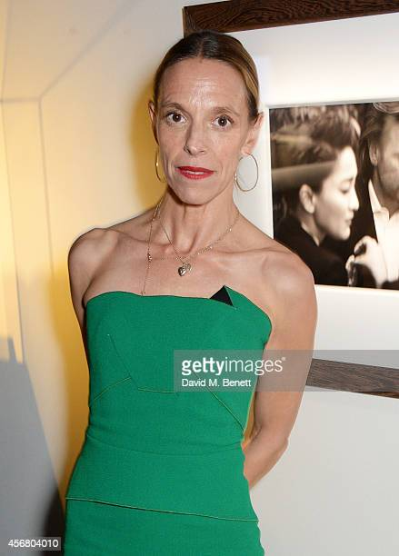 Tiphaine de Lussy attends the BFI London Film Festival IWC Gala Dinner in honour of the BFI at Battersea Evolution Marquee on October 7, 2014 in...