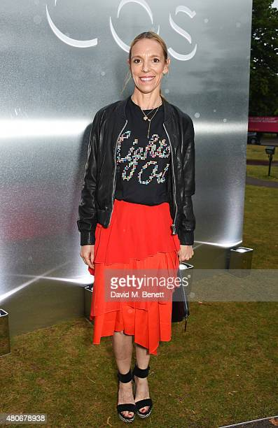 Tiphaine de Lussy attends the COS x The Serpentine party at The Serpentine Gallery on July 14, 2015 in London, England.