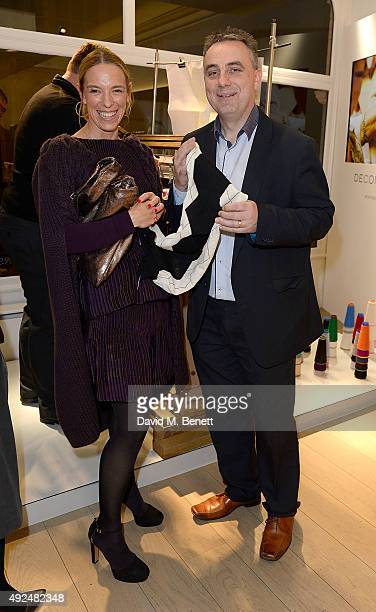 Tiphaine De Lussy attends the Deconstructed Project with a private dinner hosted by Caroline Issa, David Shrigley and Massimo Nicosia on October 13,...