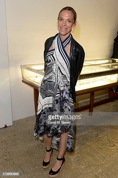 Tiphaine de Lussy attends the dinner for Dauphin jewellery hosted by Charlotte Dauphin de La Rochefoucauld at Dover Street Market on June 4, 2015 in...