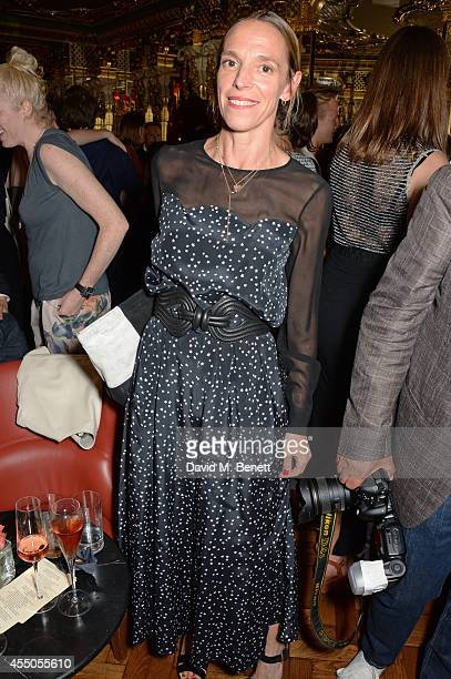 Tiphaine de Lussy attends 'The Gentlewoman' issue launch party at the Oscar Wilde Bar at The Club at Hotel Cafe Royal on September 9 2014 in London...