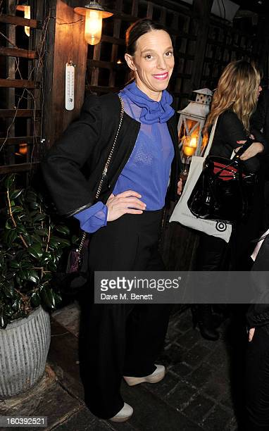 Tiphaine de Lussy attends the InStyle Best Of British Talent party in association with Lancome and Avenue 32 at Shoreditch House on January 30 2013...