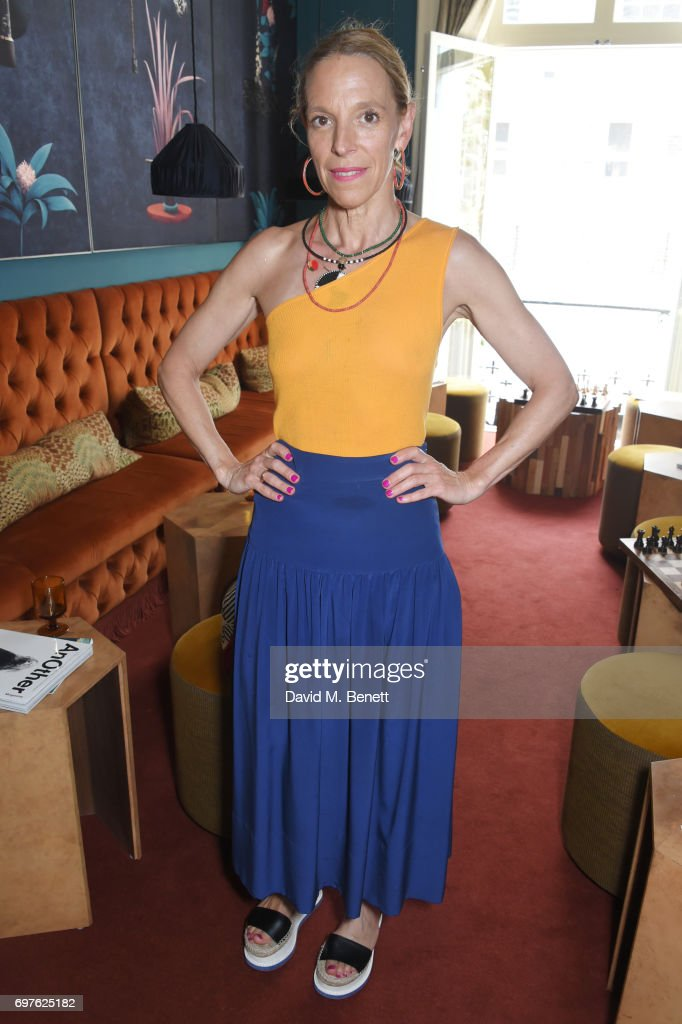 Tiphaine de Lussy attends the Isa Arfen x Alex Eagle lunch at The Chess Club on June 19, 2017 in London, England.