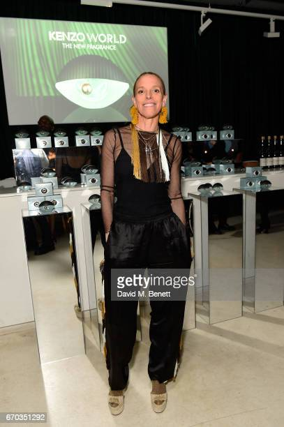 Tiphaine de Lussy attends the Kenzo World fragrance launch at The Store on April 19, 2017 in London, England.