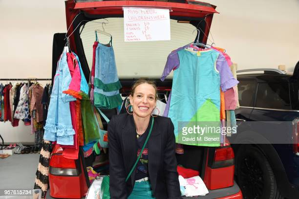 Tiphaine de Lussy attends the #SheInspiresMe Fashion Car Boot Sale in aid of Women For Women International at Brewer Street Car Park on May 12 2018...