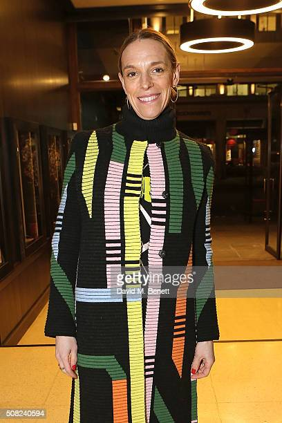 Tiphaine De Lussy attends the SHOWStudio Fashion Film Awards Ceremony at Regent Street Cinema on February 3 2016 in London England