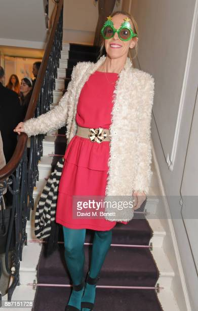 Tiphaine de Lussy attends the Stella McCartney Christmas Lights 2017 party on December 6 2017 in London England