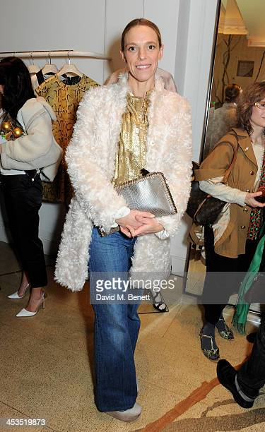 Tiphaine de Lussy attends the Stella McCartney Christmas Lights Switch On at the Stella McCartney Bruton Street Store on December 4 2013 in London...