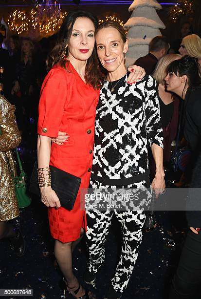 Tiphaine de Lussy attends the Sunday Times Style Christmas Party at Tramp on December 9, 2015 in London, England.