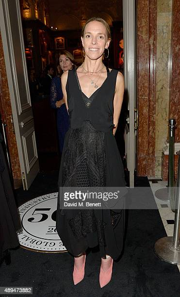 Tiphaine de Lussy attends the The Business Of Fashion #BoF500 Gala Dinner Party at The London EDITION Hotel on September 21 2015 in London England