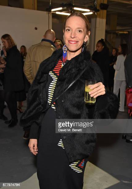 Tiphaine De Lussy attends the WHITE cocktail party hosted by Italian Trade Agency at Ambika on November 23 2017 in London England