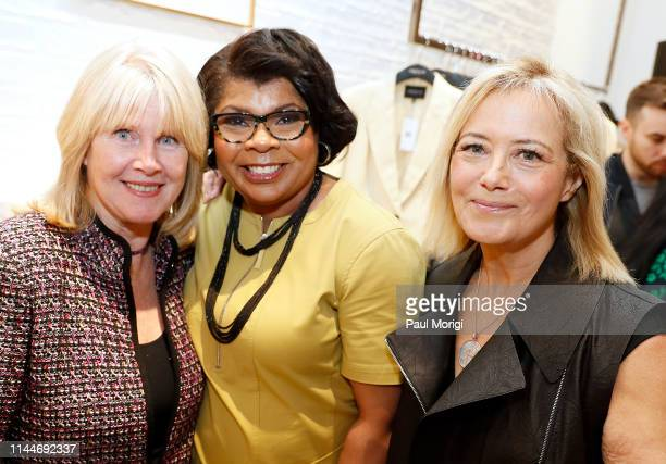 Tipper Gore former Second Lady of the United State April Ryan White House Correspondent American Urban Radio Networks and Hilary Rosen Managing...
