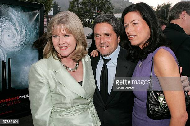 Tipper Gore Paramount Pictures Chairman and CEO Brad Grey and Producer Laurie David arrive at the Los Angeles Premiere Of An Inconvenient Truth held...