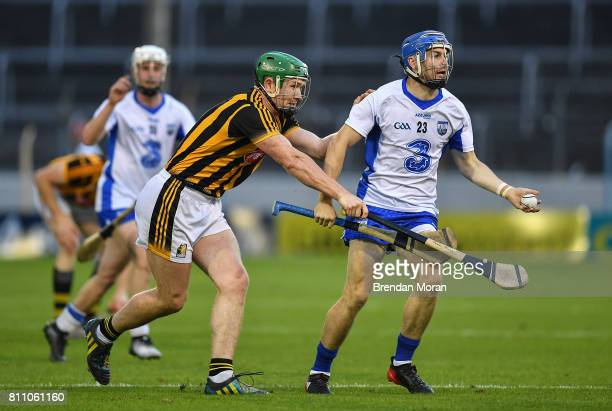 Tipperary Ireland 8 July 2017 Colin Dunford of Waterford in action against Paul Murphy of Kilkenny during the GAA Hurling AllIreland Senior...