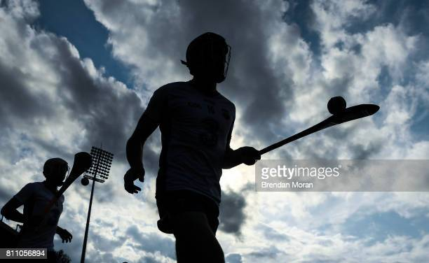 Tipperary Ireland 8 July 2017 Kevin Moran of Waterford leads his side onto the pitch ahead of the GAA Hurling AllIreland Senior Championship Round 2...