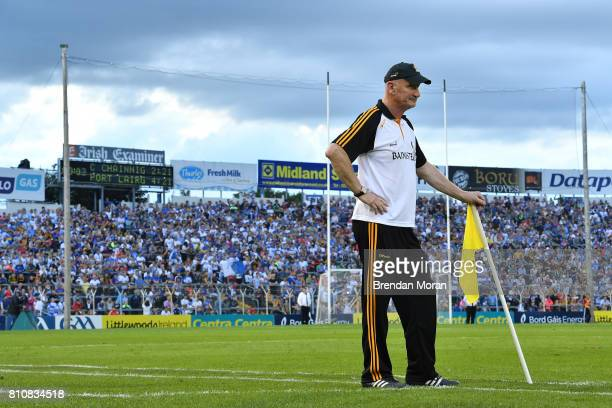 Tipperary Ireland 8 July 2017 Kilkenny manager Brian Cody near the end of the GAA Hurling AllIreland Senior Championship Round 2 match between...