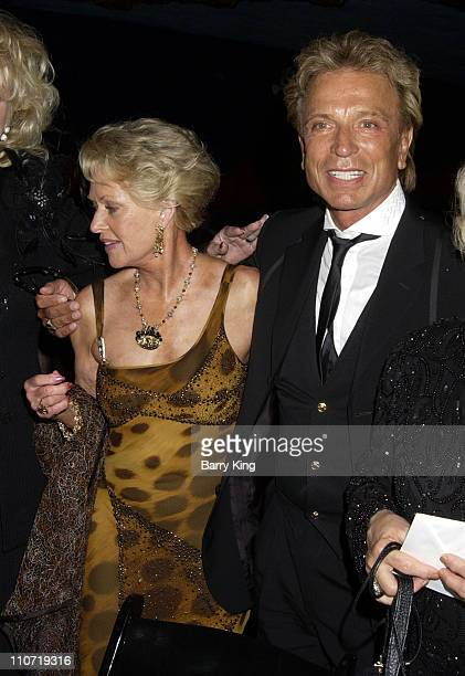Tippi Hedren and Siegfried Fischbacher during The Magic Castle Presents For Roy With Love Tribute at Academy of Magical Arts Awards at Henry Fonda...
