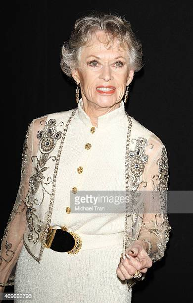 Tippi Hedren arrives at The Annual MakeUp Artists and Hair Stylists Guild Awards held at Paramount Theater on the Paramount Studios lot on February...