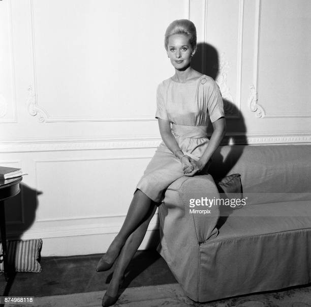 Tippi Hedren at Claridges Hotel 23rd August 1963