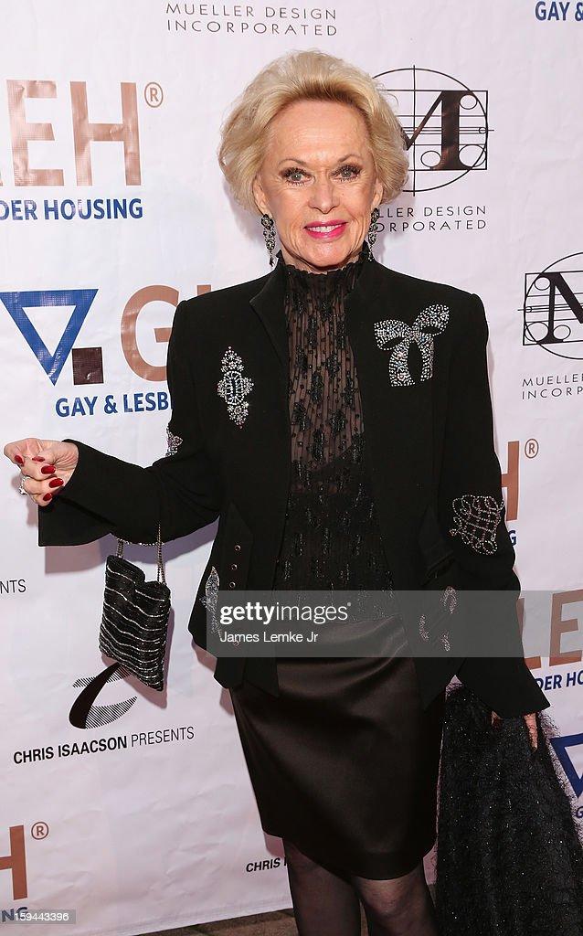 GLEH Golden Globes Viewing Gala Honoring Julie Newmar