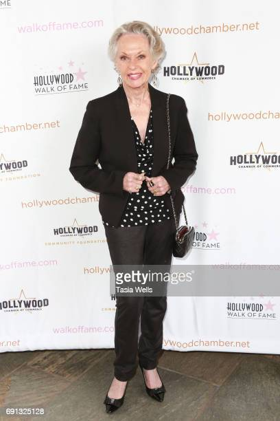 Tippi Hedren attends The Heroes of Hollywood Award Luncheon at the Taglyan Cultural Complex on June 1 2017 in Hollywood California