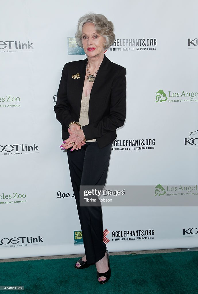 "Premiere Of ""Illicit Ivory"" Hosted By Tippi Hedren"
