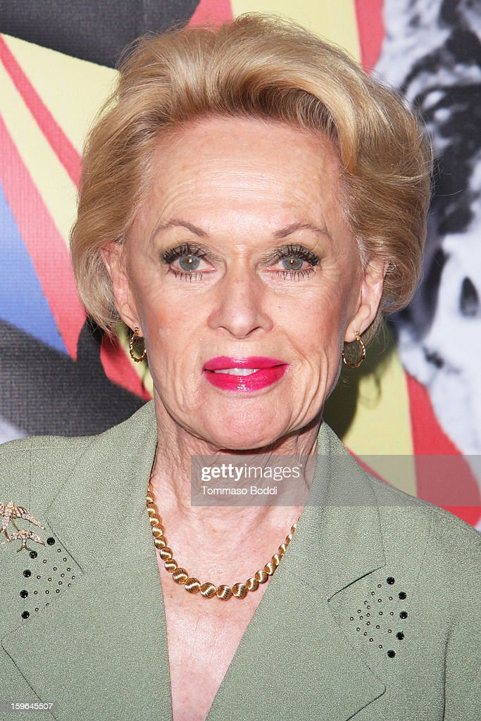 Tippi Hedren attends the Red Line Tours presents the 'Directors Series' 2nd annual commemorative ticket VIP private press event held at American Cinematheque's Egyptian Theatre on January 17, 2013 in Hollywood, California.