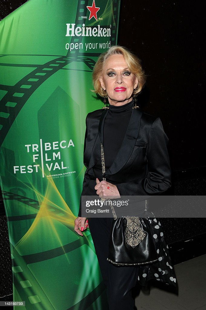 Tippi Hedren attends Tribeca Film Festival 2012 After-Party For Free Samples, Hosted by Heineken on April 21, 2012 in New York City.