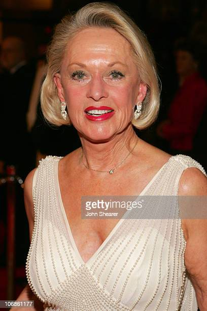 Tippi Hedren during 17th Annual Palm Springs International Film Festival Gala Awards Presentation Red Carpet at Palm Springs Convention Center in...