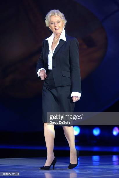 Tippi Hedren during 2003 Macy's and American Express Passport Gala Show at Barker Hanger in Santa Monica California United States