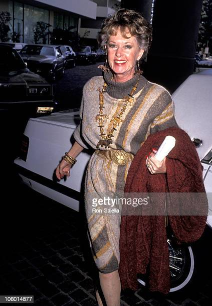 Tippi Hedren during 4th Annual Genesis Awards at Beverly Hilton Hotel in Beverly Hills California United States