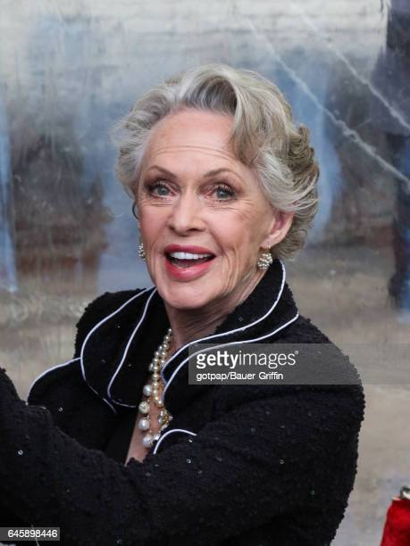 Tippi Hedren is seen on February 26 2017 in Los Angeles California