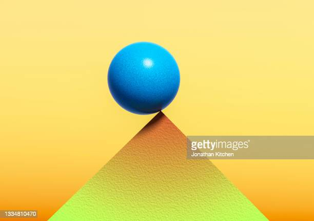 tipping point ball - verdict stock pictures, royalty-free photos & images