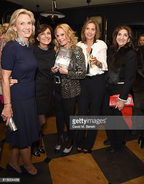 Tiqui Atencio and Guests attend the launch of new book Could Have Would Have Should Have Inside The World Of The Art Collector By Tiqui Atencio at...