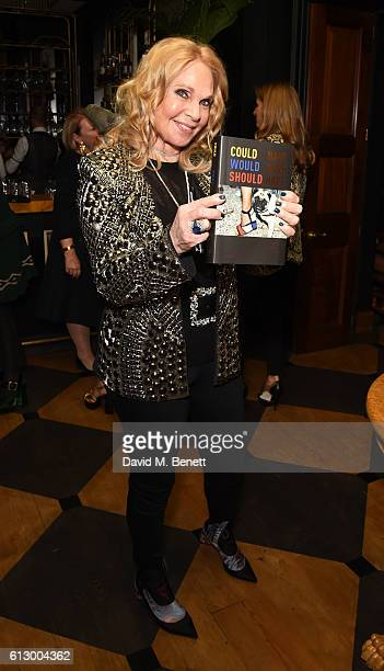 Tiqui Atencio attends the launch of new book Could Have Would Have Should Have Inside The World Of The Art Collector By Tiqui Atencio at Blake's...