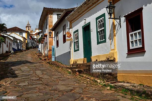 tiradentes village, minas gerais, brazil - ミナスジェライス州 ストックフォトと画像