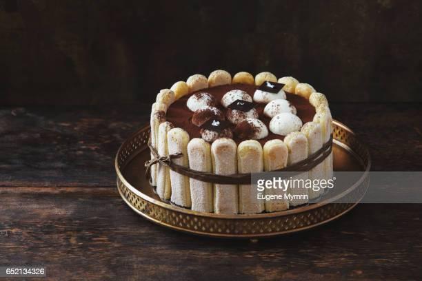 tiramisu cake - mascarpone cheese stock pictures, royalty-free photos & images