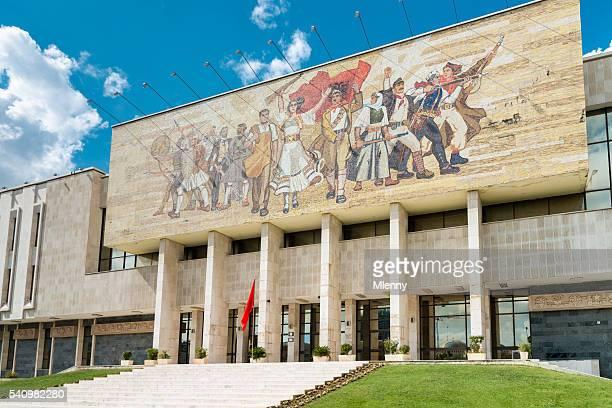 Tirana Museu Nacional de História Praça Skanderbeg Albânia